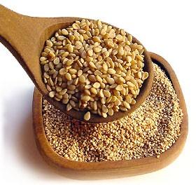 raccolta semi di sesamo
